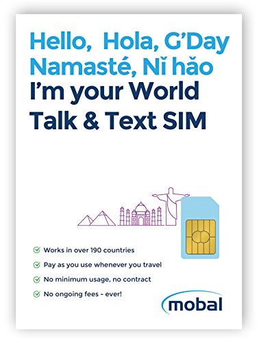 Mobal World Talk & Text SIM Card
