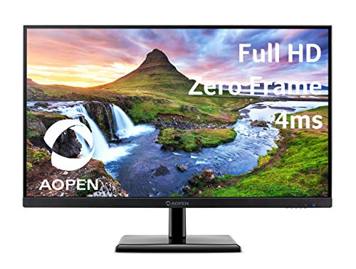AOPEN by Acer 27CH2 bix 27' Full HD (1920 x 1080) IPS Monitor | 75Hz Refresh Rate | 4ms Response Time | 1 x