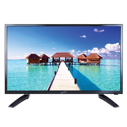 SuperSonic SC-3210 1080p LED Widescreen HDTV 32' Flat Screen with USB Compatibility, SD Card Reader, HDMI & AC Input: Built-in Digital Noise Reduction