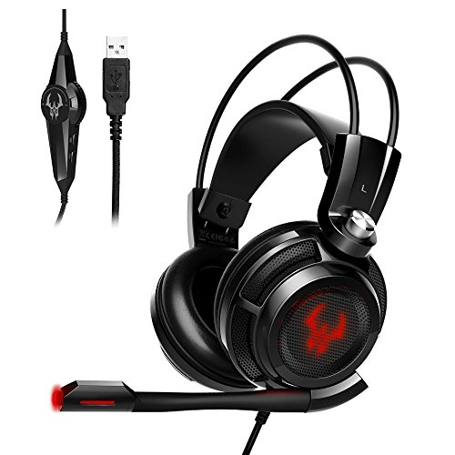 EasyAcc G1 Gaming Headset Virtual 7.1 Channel Surround