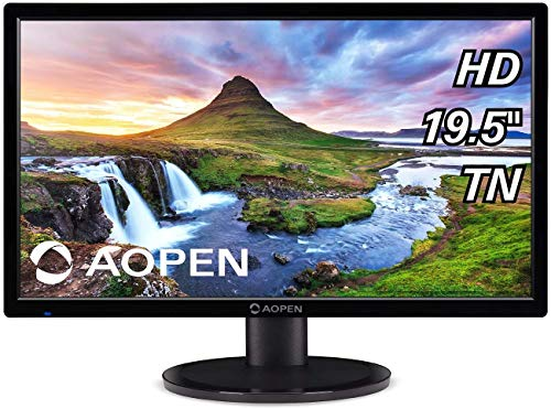 AOPEN CH1-19.5' Monitor HD 1366x768 60Hz Twisted Nematic Film 5ms 200Nit (Renewed)