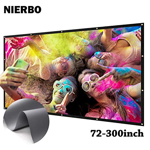 Projection Screen HD 16:9 Anti-Crease