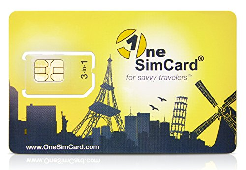 OneSimCard Prepaid International 3-in-one SIM Card