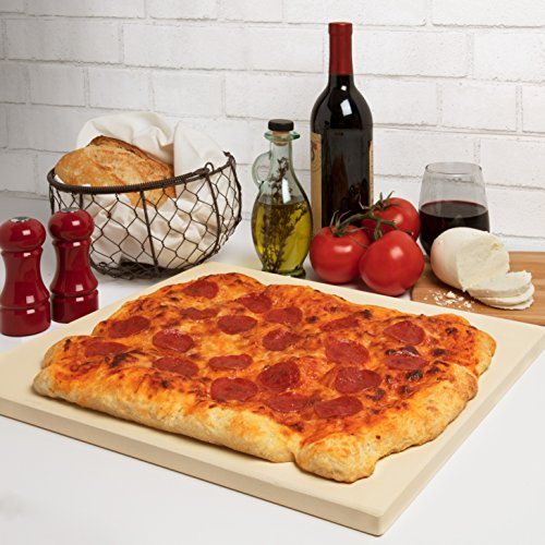 CucinaPro Pizza Stone for Oven, Grill, BBQ