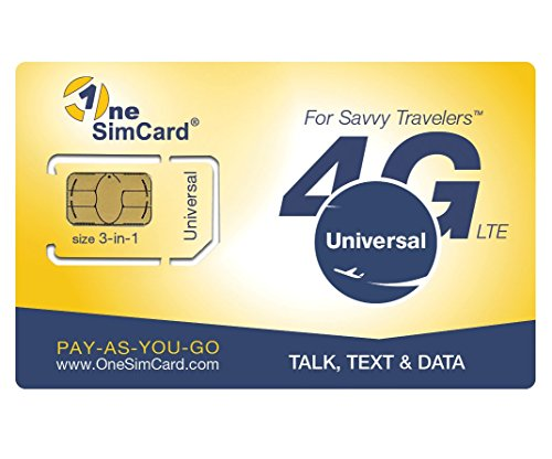 OneSimCard Universal 3-in-one SIM Card