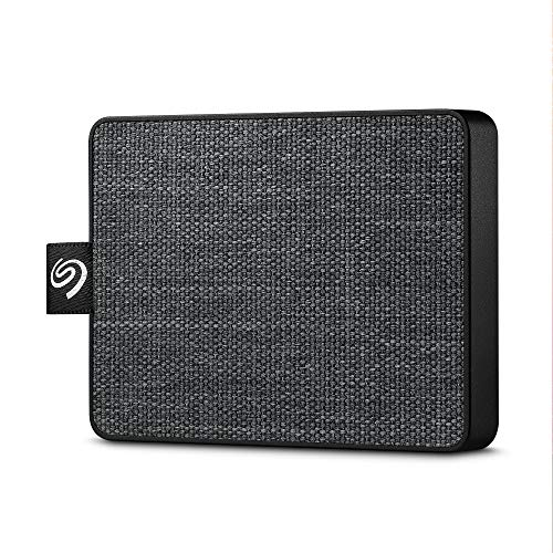 Seagate One Touch SSD 1TB External Solid State Drive Portable – Black, USB 3.0 for PC Laptop and Mac, 1yr Mylio Create, 2 months Adobe CC Photography (STJE1000400)