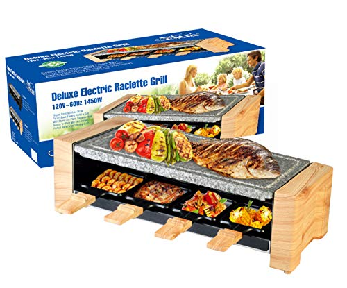 Artestia Electric Raclette Grill with High Density