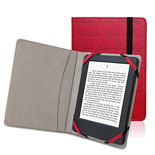 Universal 6inch Ereader Book Style Case Cover