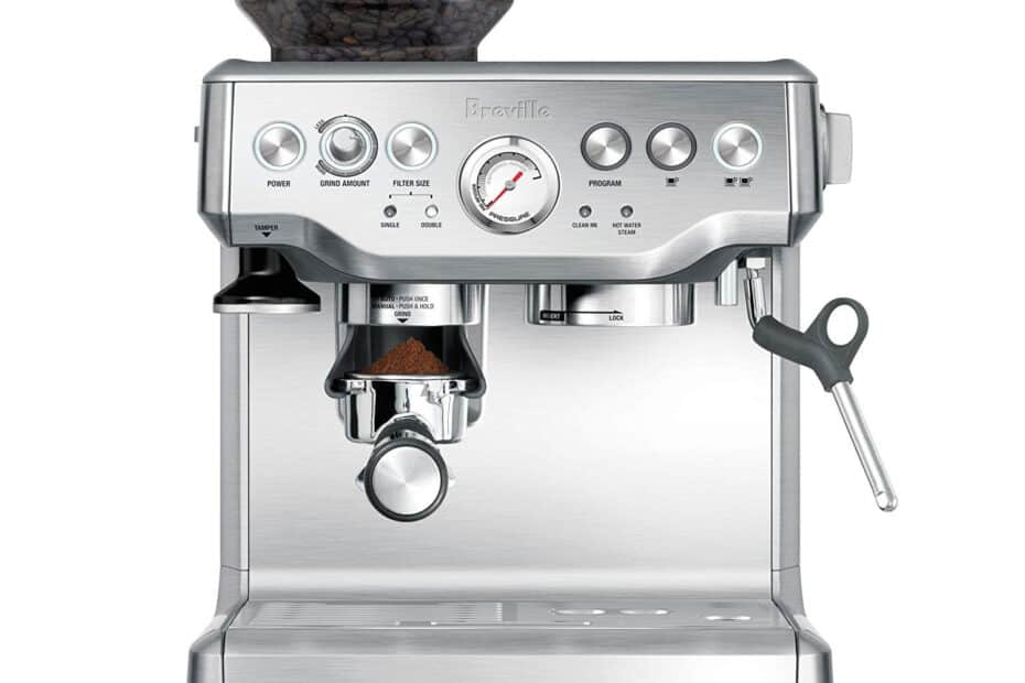 Breville the Barista Express Espresso Machine best coffee machine