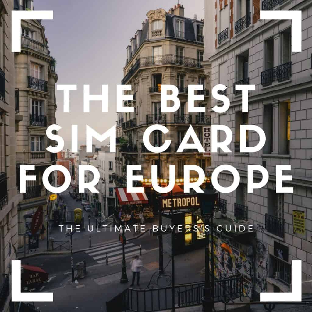 best europe sim card