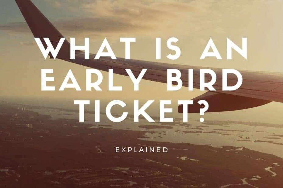 what is early bird discount