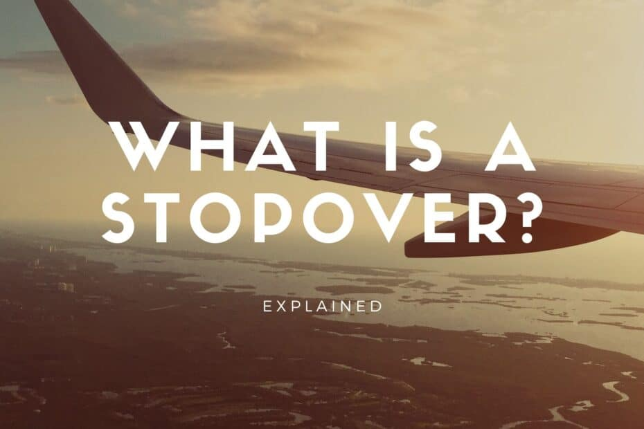 what is stopover