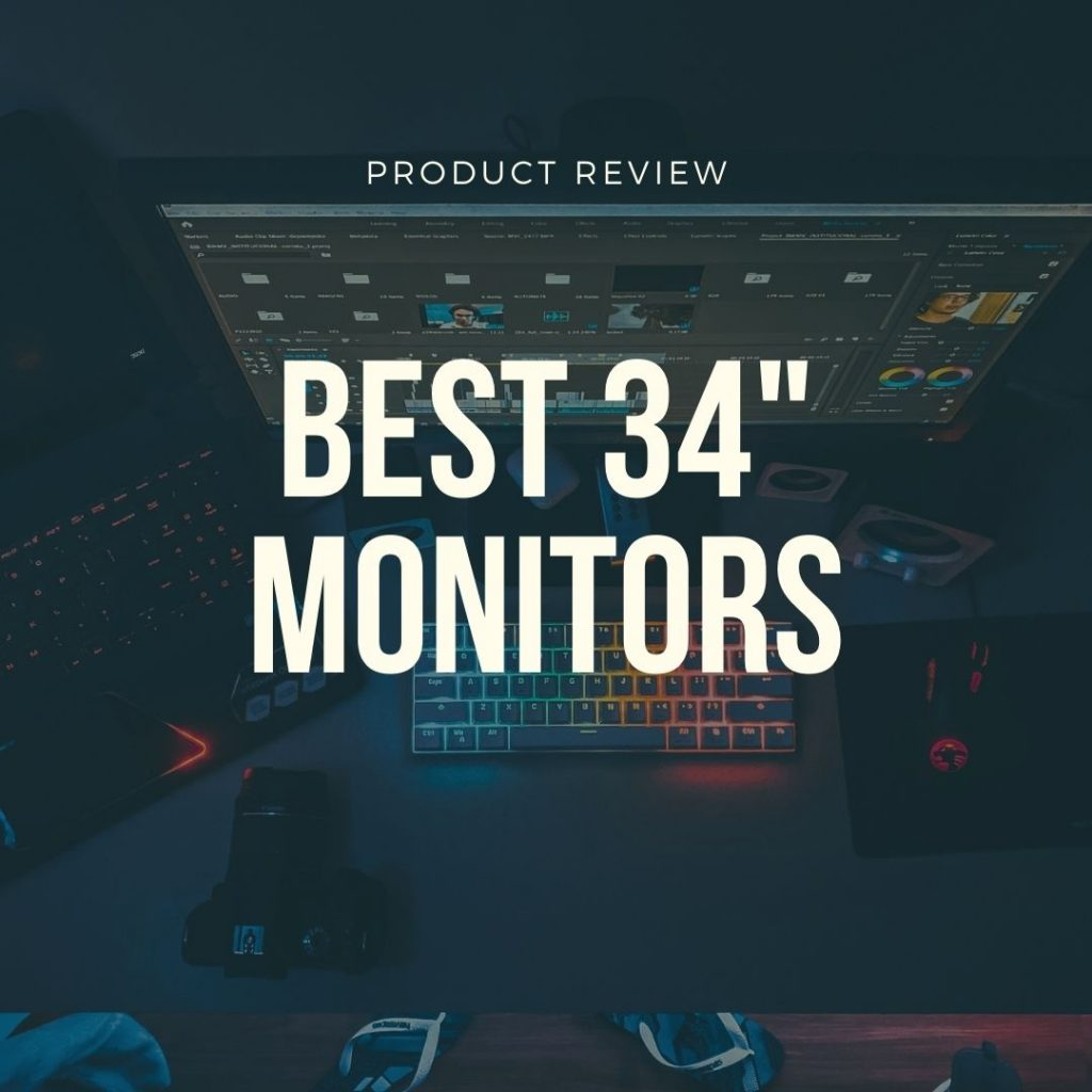 best 34 inch monitors