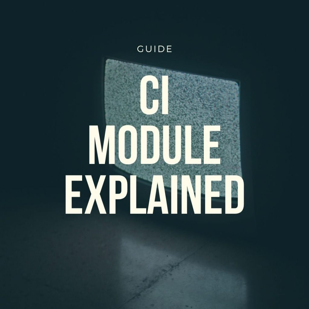 ci module explained