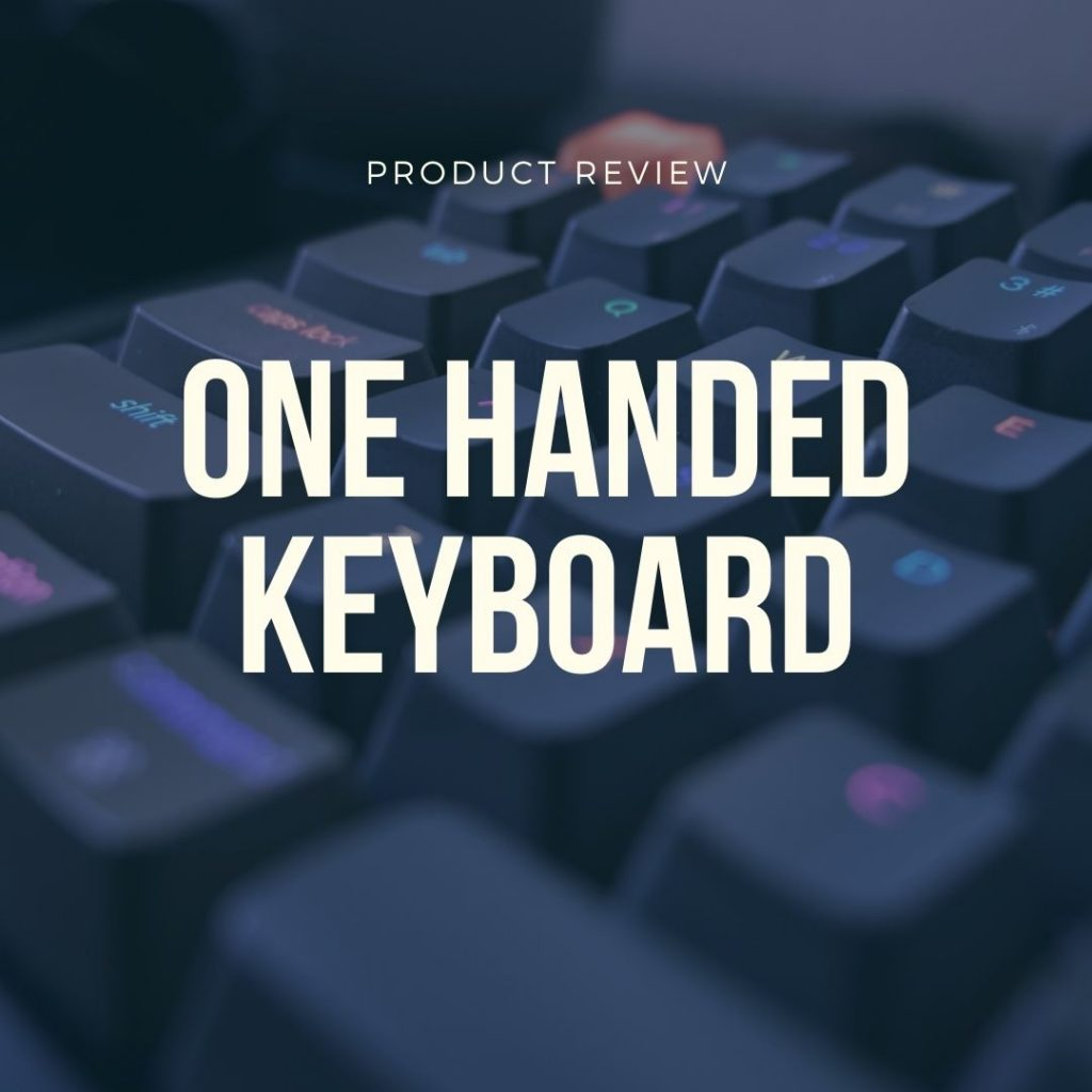 best one handed keyboards