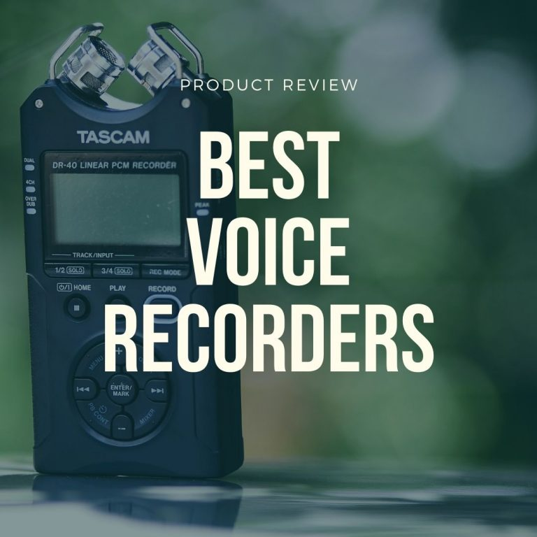 best voice recorders