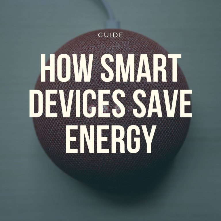 save energy smart devices