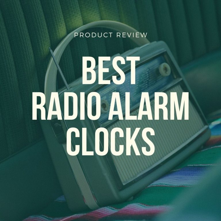 best radio alarm clocks