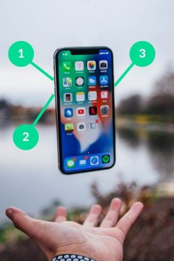 how to reset iphone x